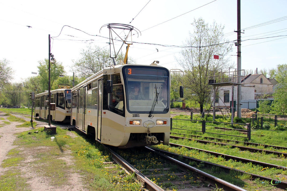 Саратов. 71-619КТ (КТМ-19КТ) №1001