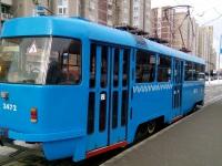 Москва. Tatra T3 (МТТА) №3472