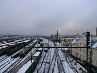 Санкт-Петербург. Вид с путепровода