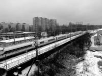 Санкт-Петербург. Скоростной электропоезд Сапсан, маршрут Санкт-Петербург (Московский вокзал) - Москва (Ленинградский вокзал)