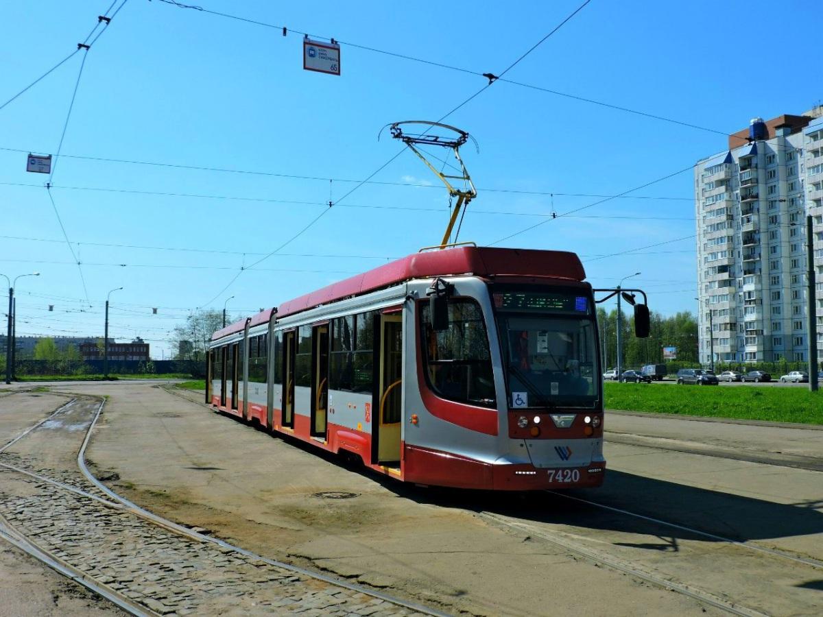 Санкт-Петербург. 71-631 (КТМ-31) №7420