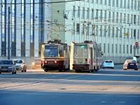 Санкт-Петербург. 71-151А (ЛВС-97А-01) №7100, ЛВС-86К №7057