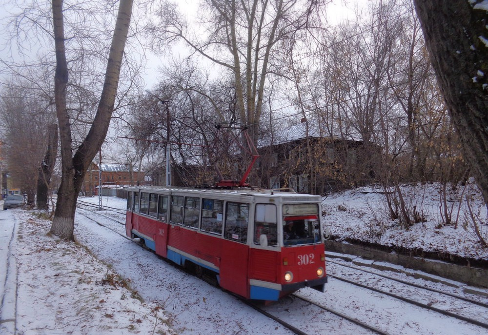 Томск. 71-605 (КТМ-5) №302