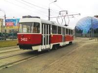 Москва. Tatra T3 (МТТЧ) №3452