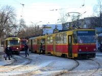 Тверь. Tatra T3SU №215, Tatra T3SU №219, Tatra T6B5 (Tatra T3M) №1