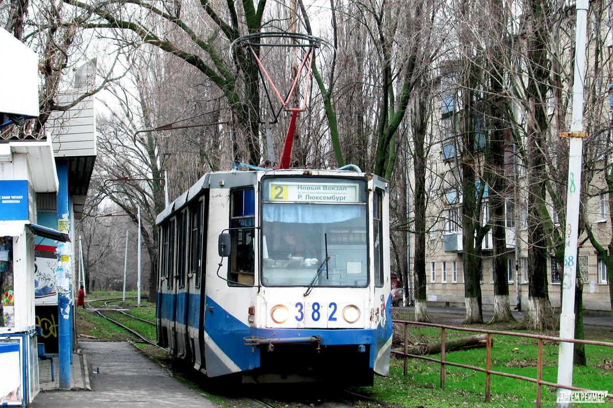 Таганрог. 71-608К (КТМ-8) №382
