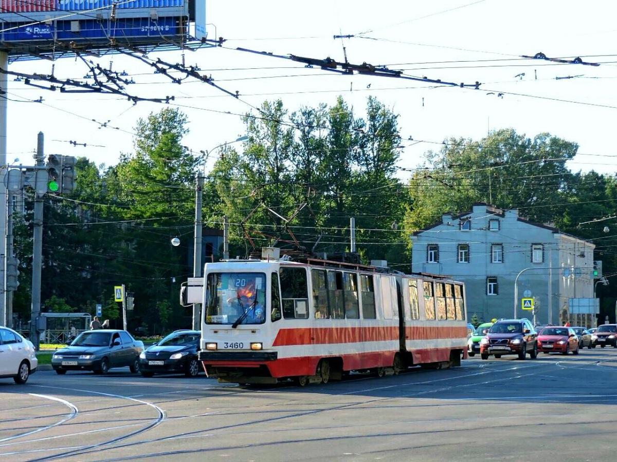 Санкт-Петербург. ЛВС-86К-М №3460