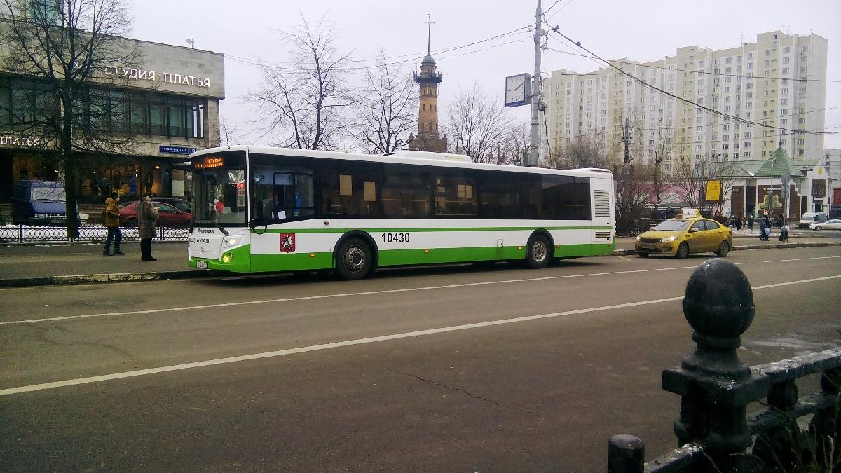 Москва. ЛиАЗ-5292.22 н737ав