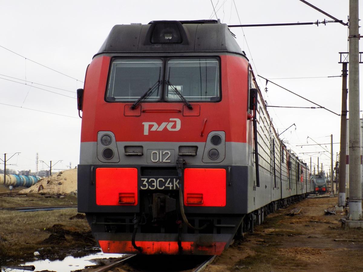 Санкт-Петербург. 3ЭС4К-012