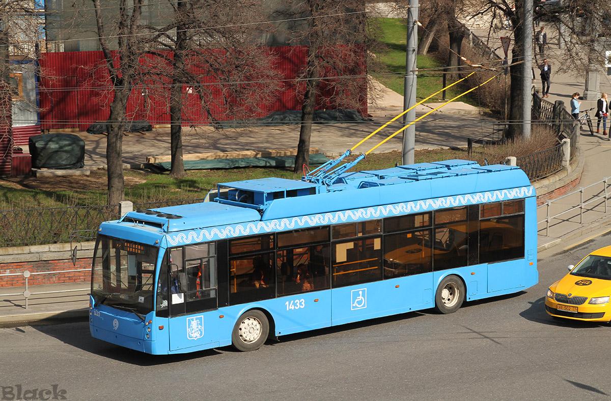 Москва. ТролЗа-5265.00 №1433