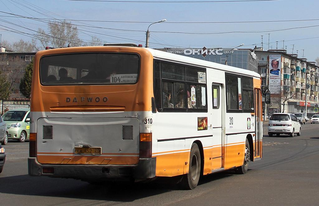 Комсомольск-на-Амуре. Daewoo BS106 ка452
