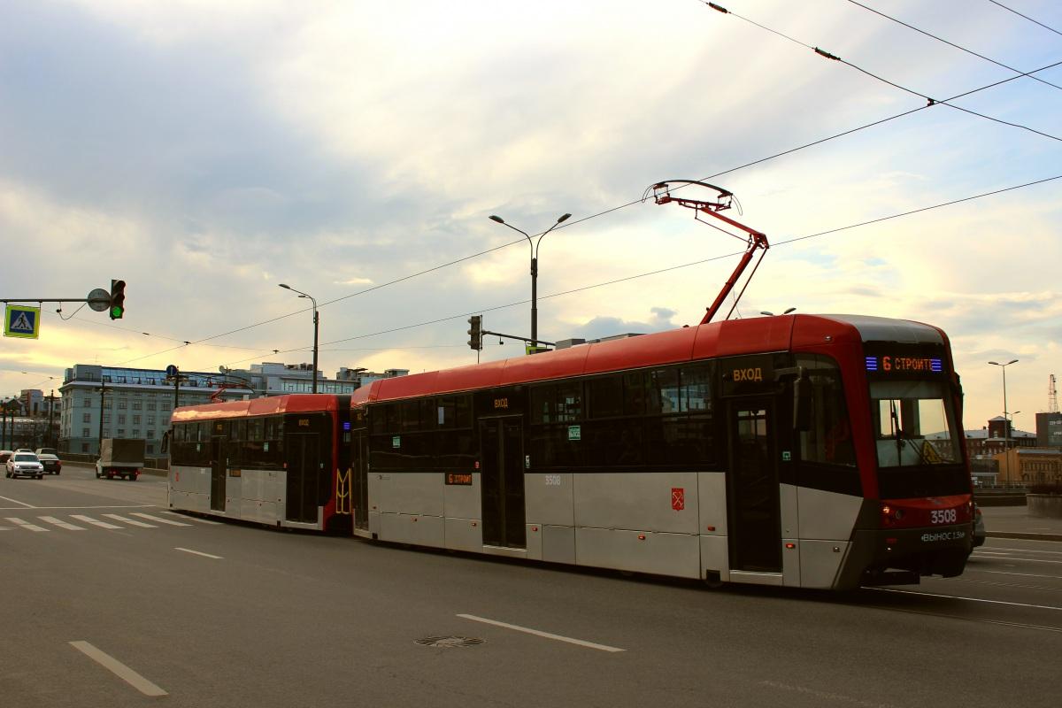 Санкт-Петербург. ЛМ-68М3 №3508, ЛМ-68М3 №3507