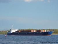 Череповец. Теплоход смешанного река-море плавания Нева-Лидер 3, предназначен для перевозки генеральных грузов и навалочных грузов