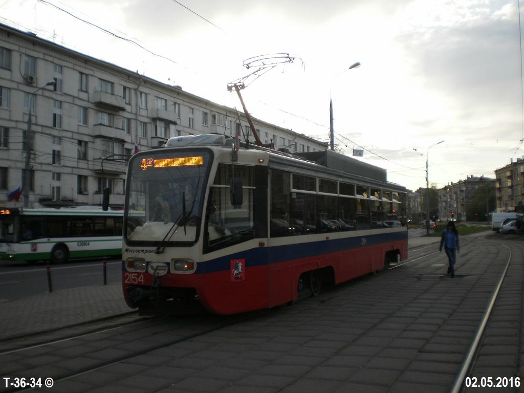 Москва. 71-619А (КТМ-19А) №2154