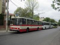 Львов. Electron T19101 №114, Škoda 14Tr02/6 №514, Škoda 15Tr10/7 №599