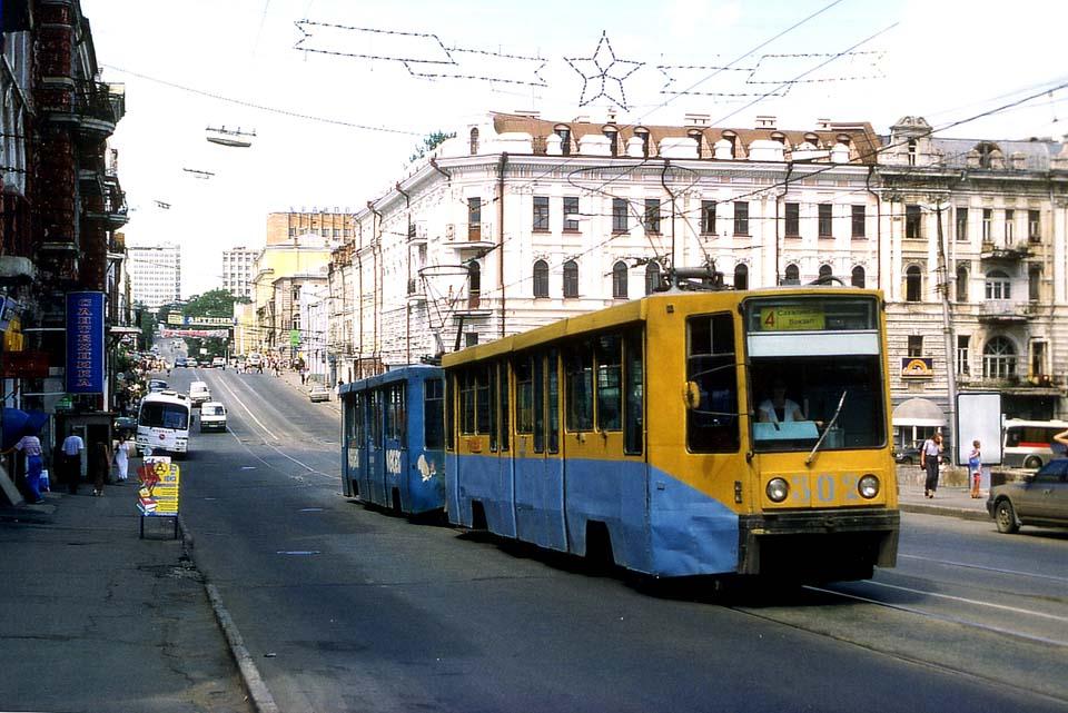 Владивосток. 71-608К (КТМ-8) №301, 71-608К (КТМ-8) №302