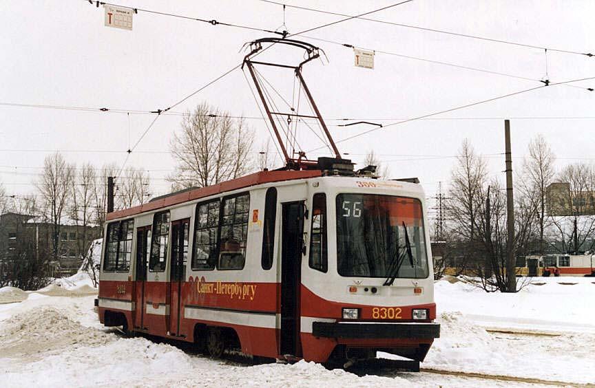 Санкт-Петербург. 71-134К (ЛМ-99К) №8302