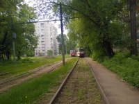 Саратов. На этих рельсах отстаиваются трамваи