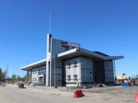 Кириши. Строительство вокзала