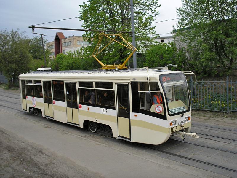 Москва. 71-619КТ (КТМ-19КТ) №1107