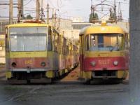 Киев. Tatra T6B5 (Tatra T3M) №045, Tatra T3SU №5627