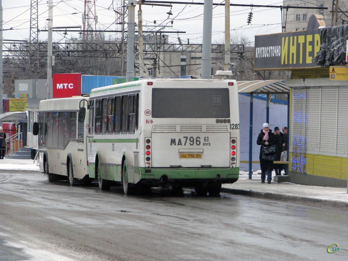 Ростов-на-Дону. ЛиАЗ-5256.45 ма796