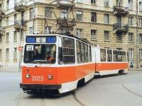 Санкт-Петербург. ЛВС-86К №2025