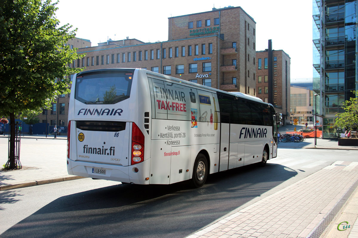 Хельсинки. Carrus 9700 ILB-500