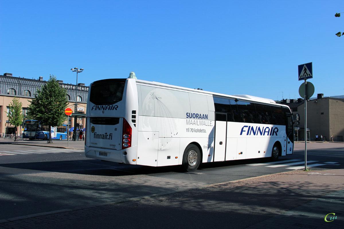 Хельсинки. Carrus 9700 GKB-370