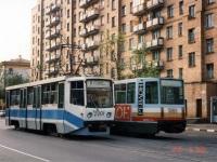 Москва. 71-608КМ (КТМ-8М) №2201, 71-608К (КТМ-8) №5093