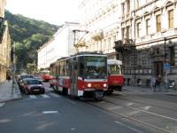 Прага. Tatra T6A5 №8672