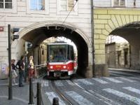 Прага. Tatra T6A5 №8750