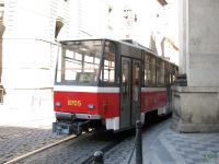 Прага. Tatra T6A5 №8705