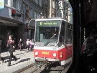 Прага. Tatra T6A5 №8682