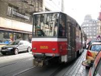 Прага. Tatra T6A5 №8658