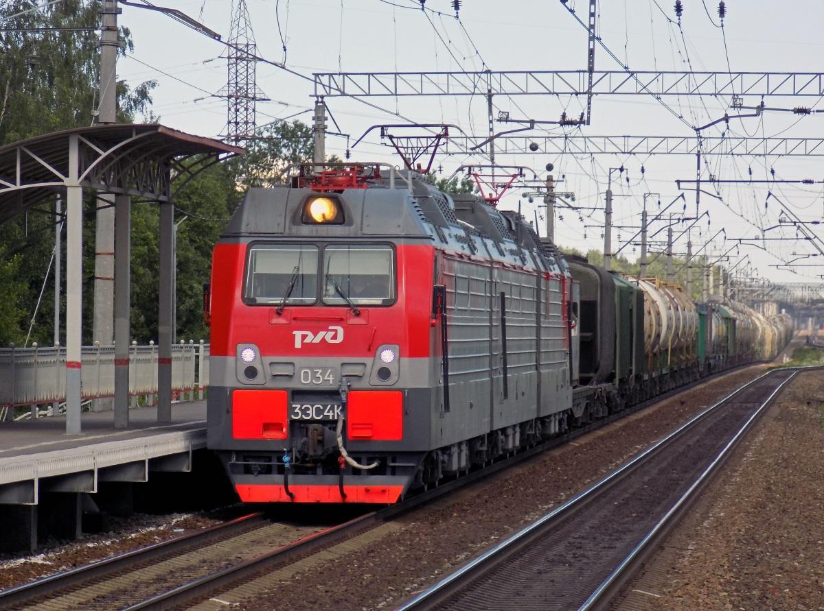 Санкт-Петербург. 3ЭС4К-034