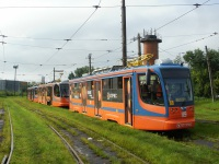 Хабаровск. 71-623-00 (КТМ-23) №114, 71-623-00 (КТМ-23) №115, 71-623-02 (КТМ-23) №119