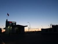 Кириши. Вечерний вокзал, станция Кириши