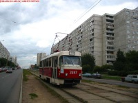 Москва. Tatra T3 (МТТМ) №3347