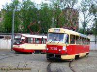 Москва. ТМРП-2 №3334, Tatra T3 (МТТМ) №3356