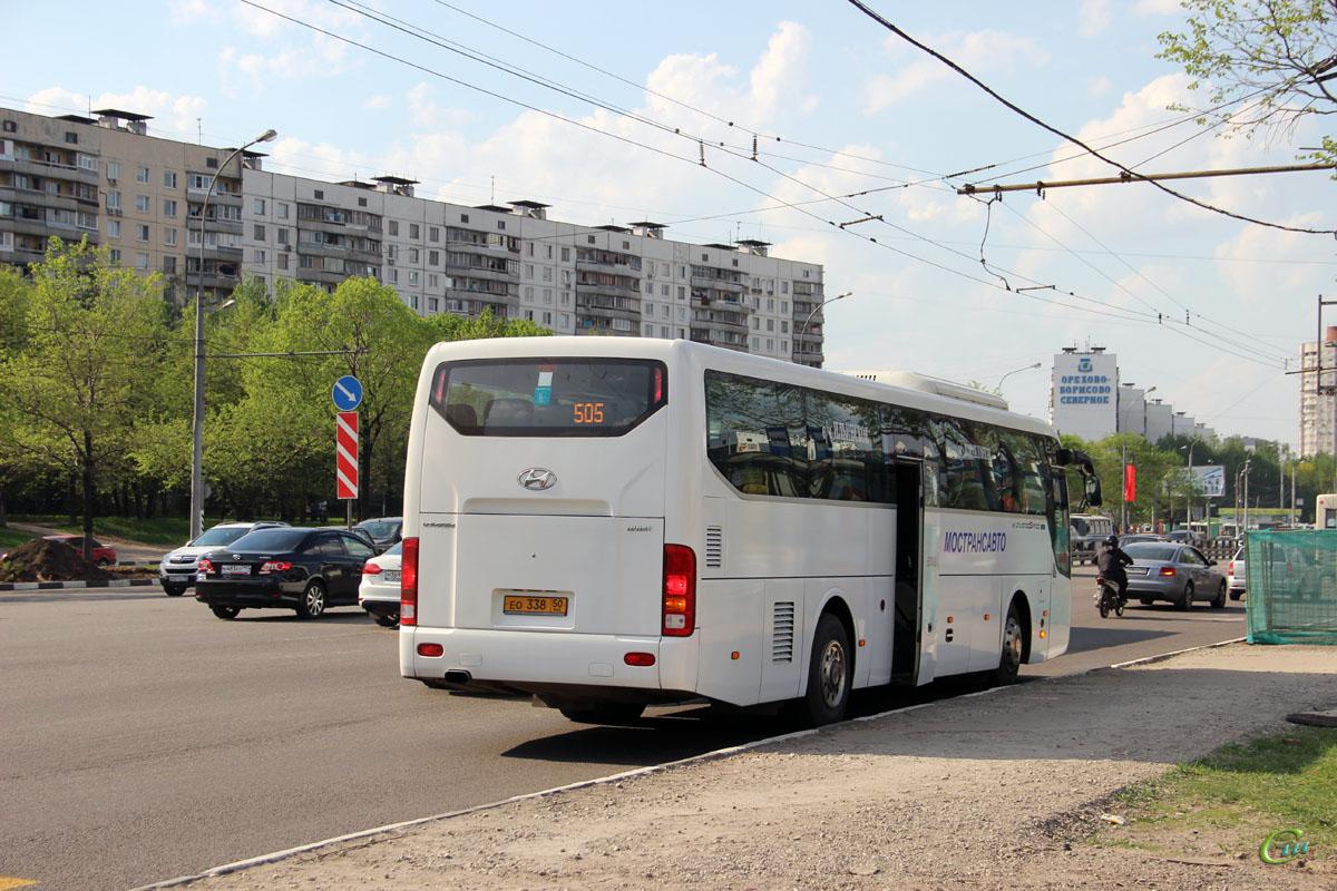 Москва. Hyundai Universe Space Luxury ео338