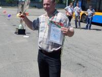 Конкурс профессионального мастерства водителей троллейбуса. Гродно, июнь 2016