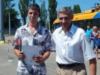 Гродно. Водитель 2 класса, занявший 2 место - Бубен Александр Александрович