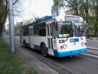 Новокузнецк. ЗиУ-682Г-017 (ЗиУ-682Г0Н) №038