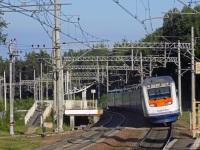 Санкт-Петербург. Скоростной пассажирский двухсистемный электропоезд Sm6, маршрут Хельсинки-Санкт-Петербург