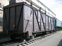 Ростов-на-Дону. 4-хосный крытый товарный вагон № 37643830