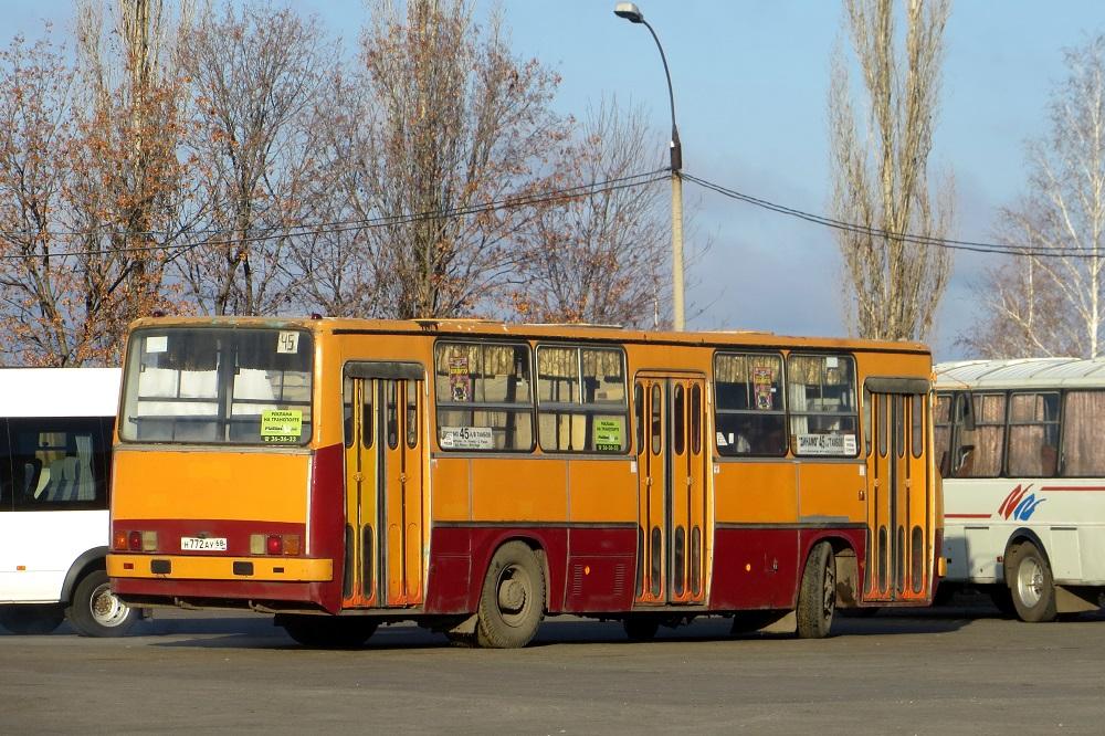 Тамбов. Ikarus 260 (280) н772ау