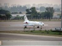 Анталья. Самолет Ту-134А-3 (UP-T3403) авиакомпании Jet Airlines