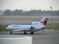 Анталья. Самолет Як-42Д (RA-42316) авиакомпании Саравиа - Саратовские Авиалинии