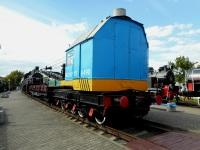 Брест. Паровой кран на железнодорожном ходу ПК-ЦУМЗ-15-490